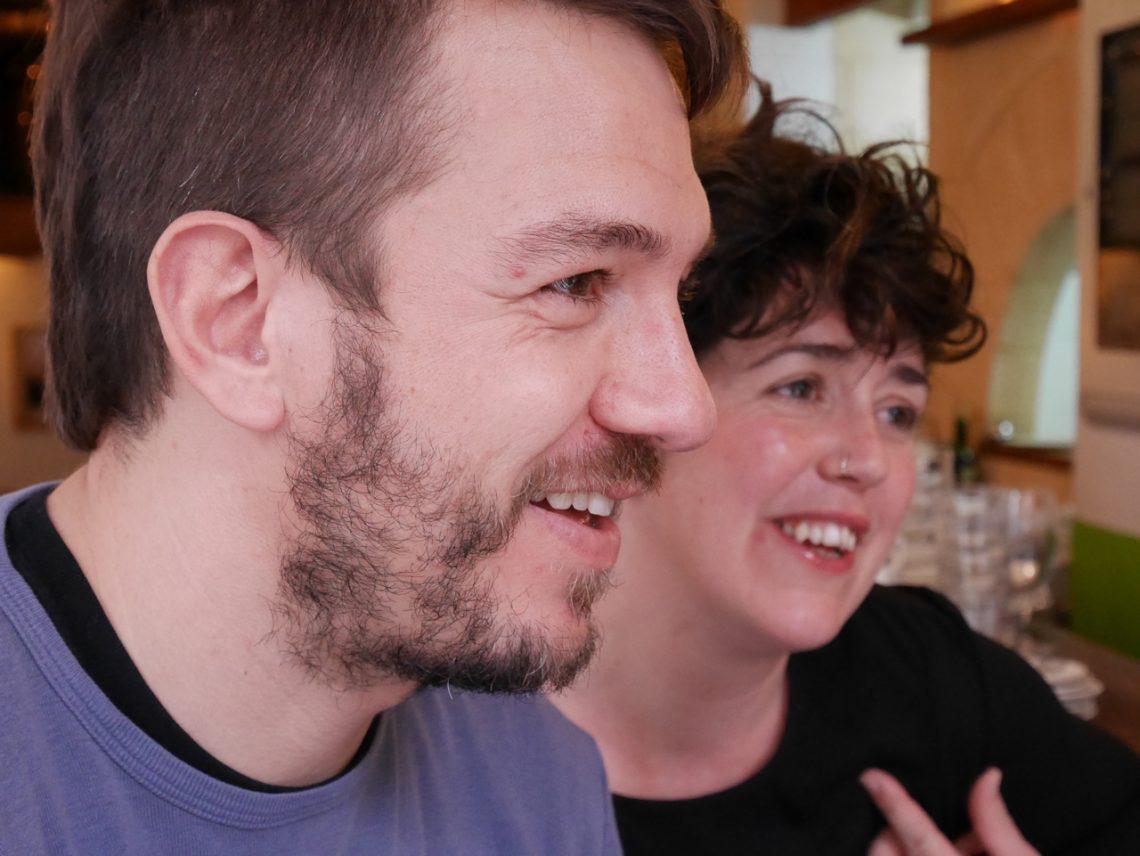 Mónica Román Ramis and Ignasi Ignacio Crespí