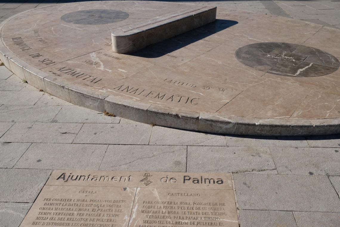 Mallorca's sun dials