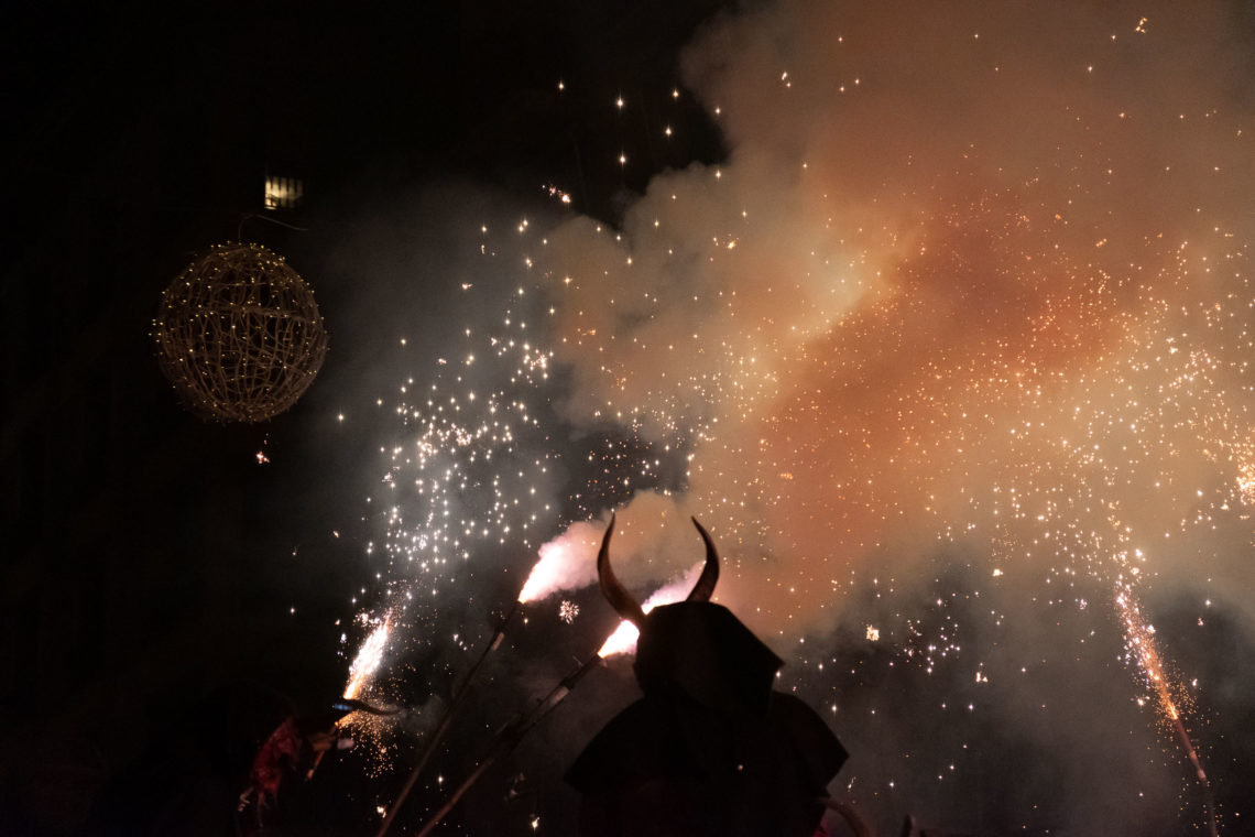 Correfoc de Sant Sebastià 2019