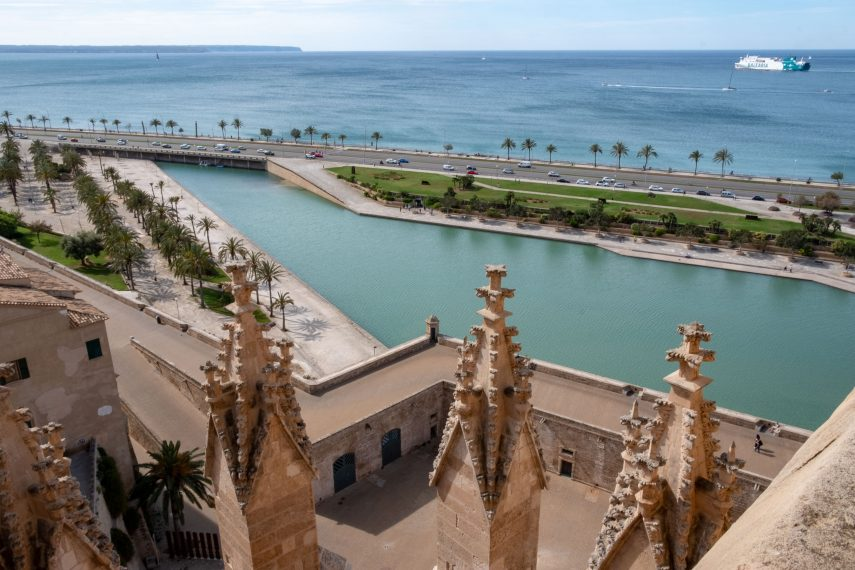 Stairway to heaven: The roof terraces of La Seu