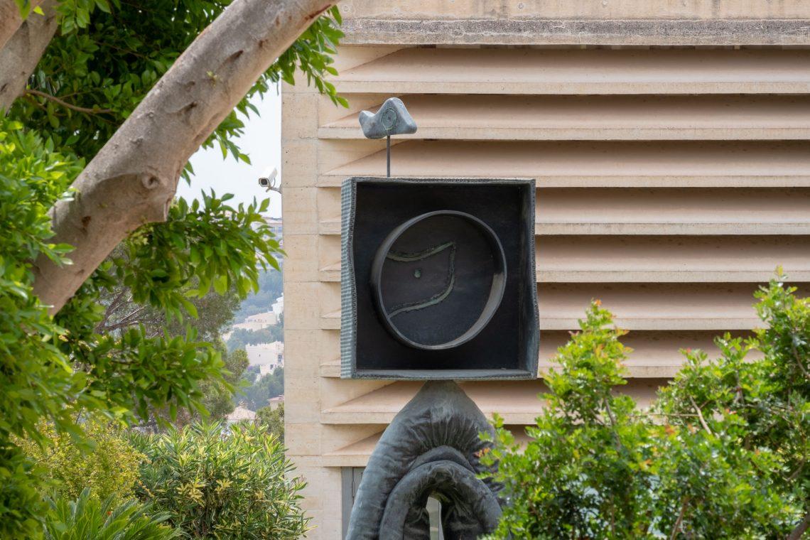 Miró Mallorca sculture garde