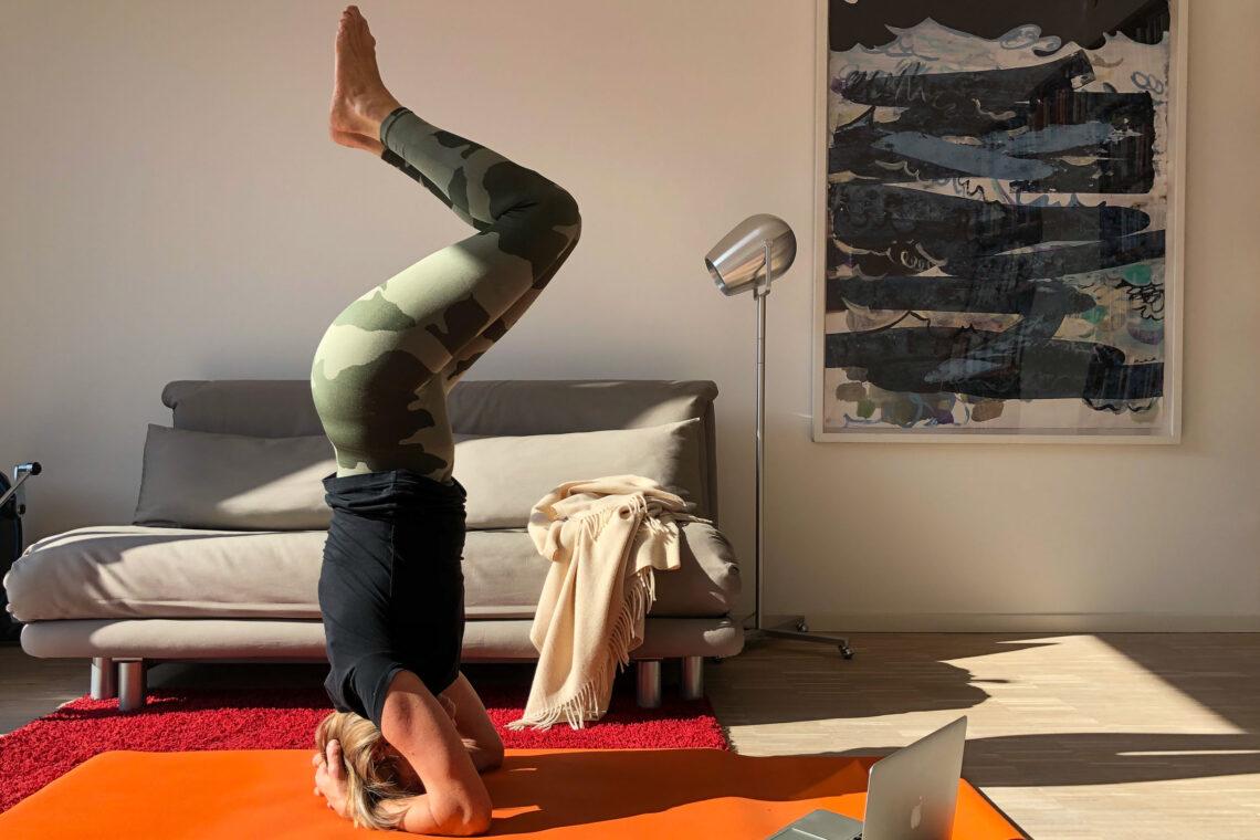 Yoga an casa