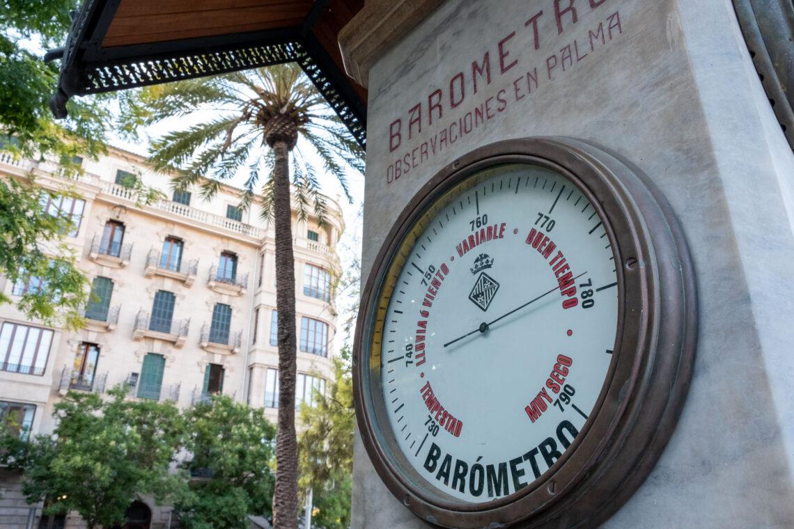Gaspar Bennàzar's Barometer